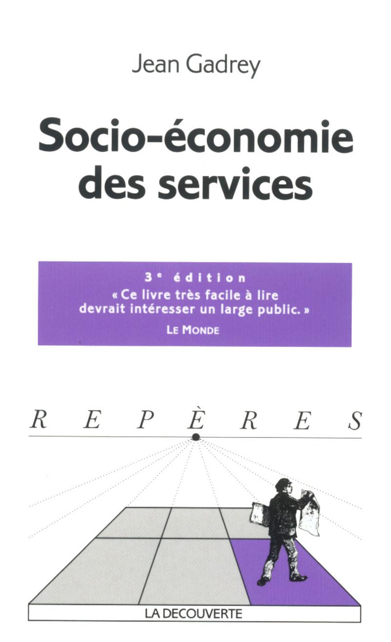 Socio-économie des services - Jean GADREY