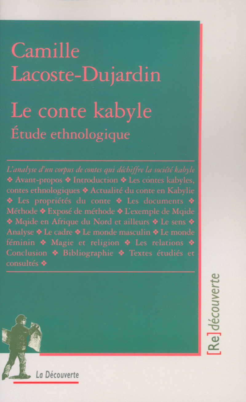 Le conte kabyle - Camille LACOSTE-DUJARDIN