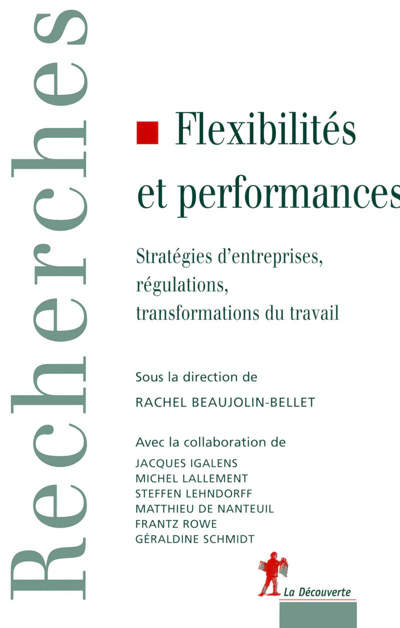 Flexibilités et performances - Rachel BEAUJOLIN-BELLET