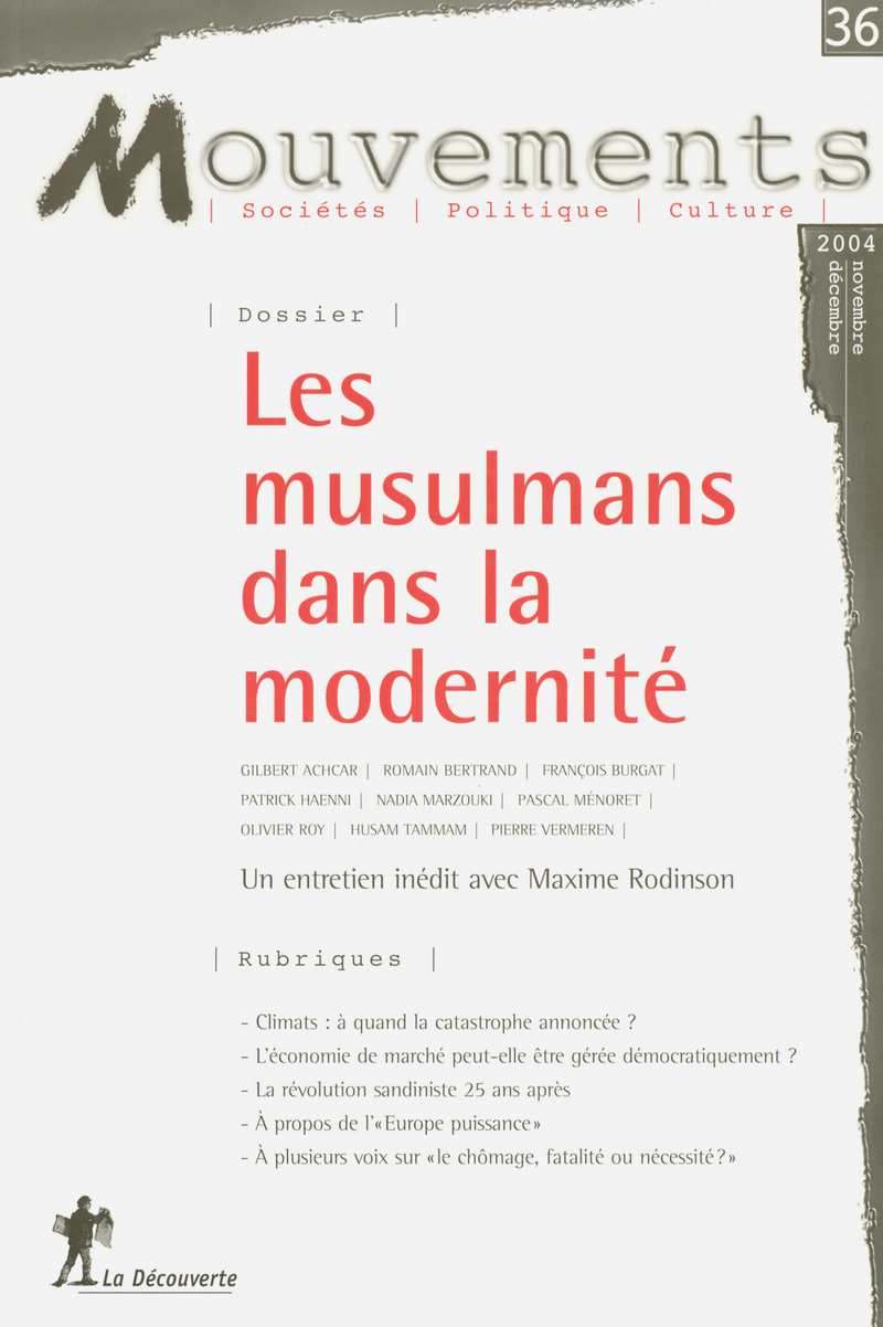 Les musulmans dans la modernité