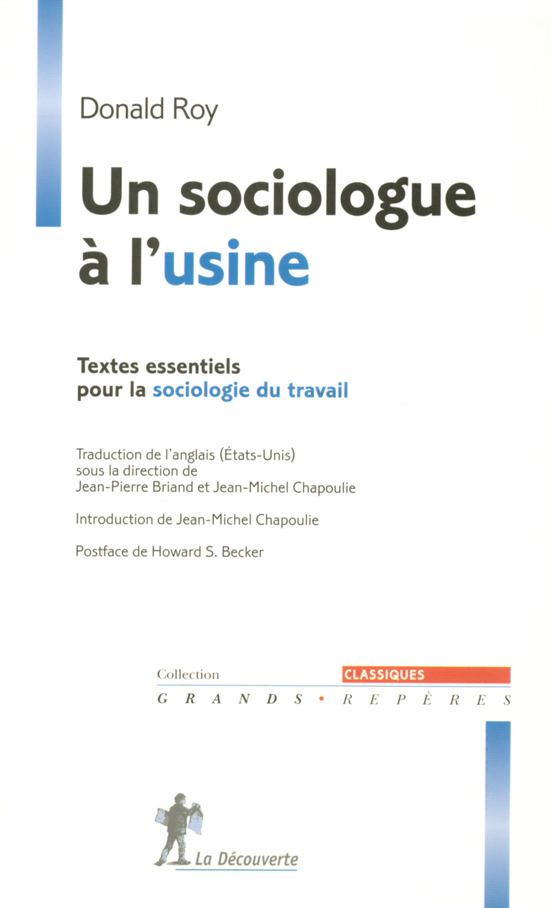 Un sociologue à l'usine - Donald ROY