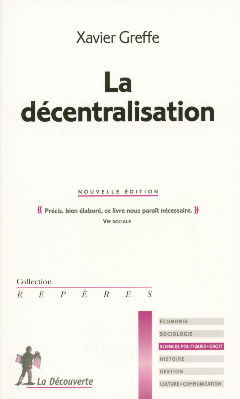 La décentralisation - Xavier GREFFE