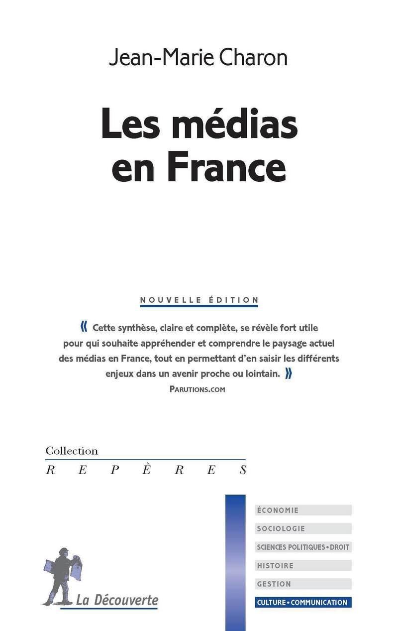 Les médias en France - Jean-Marie CHARON