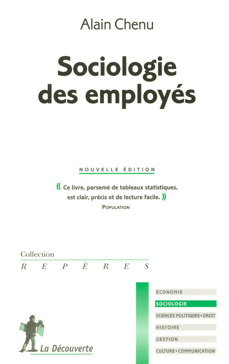 Sociologie des employés - Alain CHENU