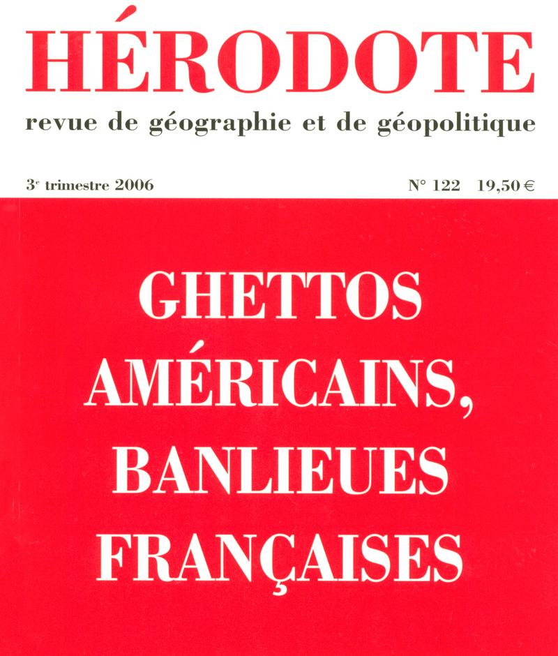Ghettos américains, banlieues françaises