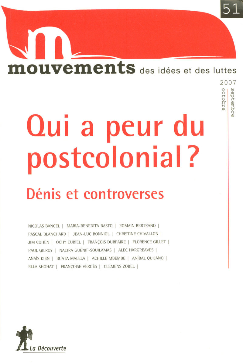 Qui a peur du postcolonial ? -  REVUE MOUVEMENTS