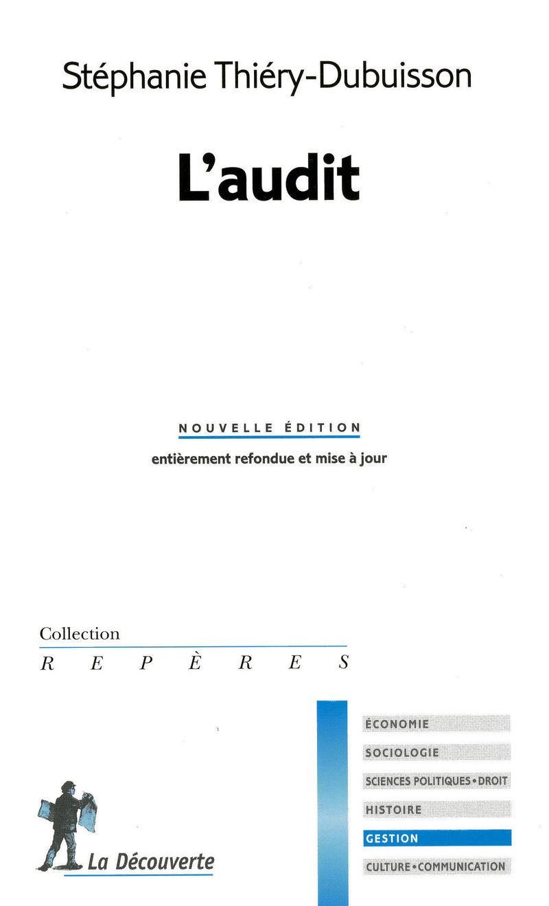 L'audit - Stéphanie THIÉRY-DUBUISSON