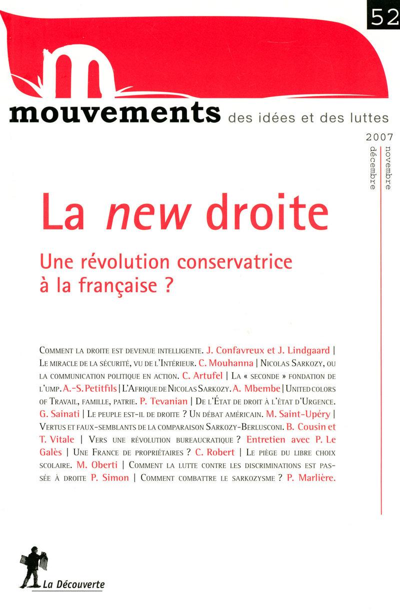 La new droite -  REVUE MOUVEMENTS