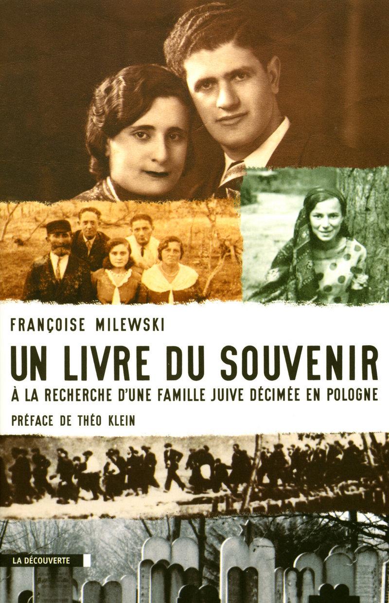 Un livre du souvenir - Françoise MILEWSKI