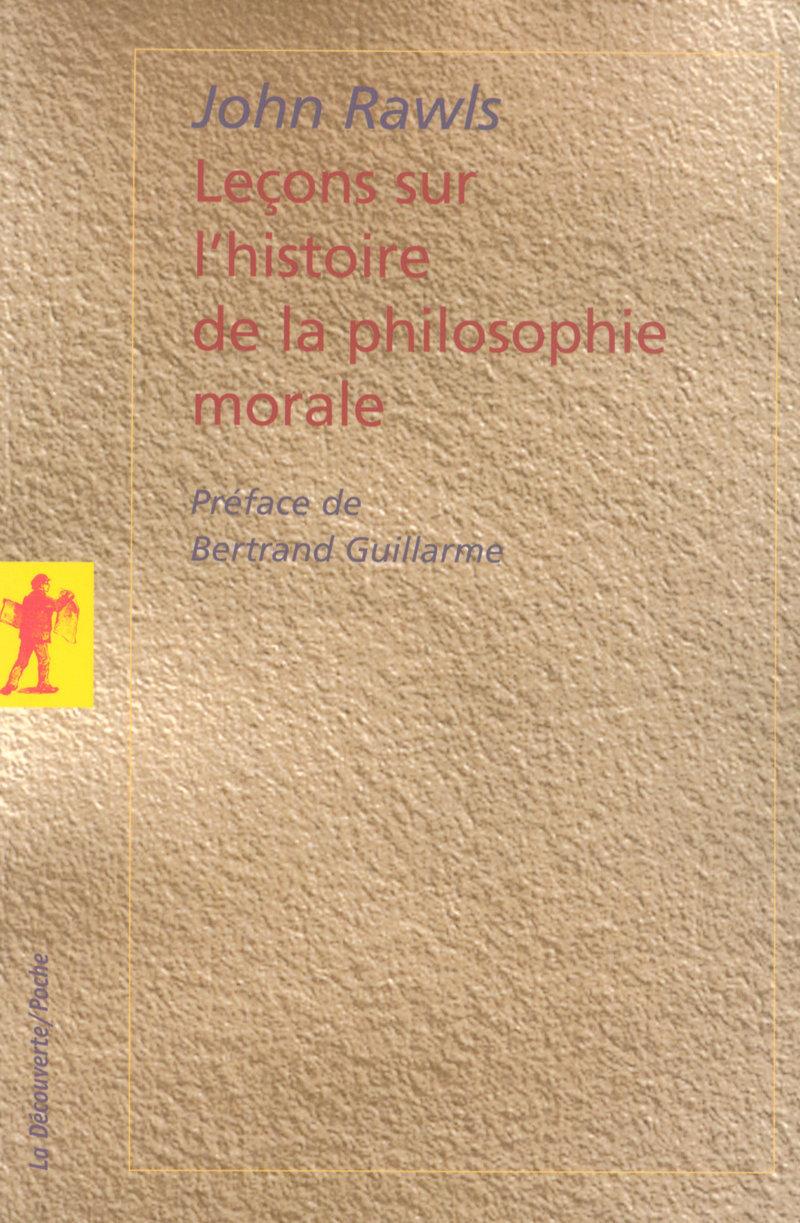 Leçons sur l\'histoire de la philosophie morale