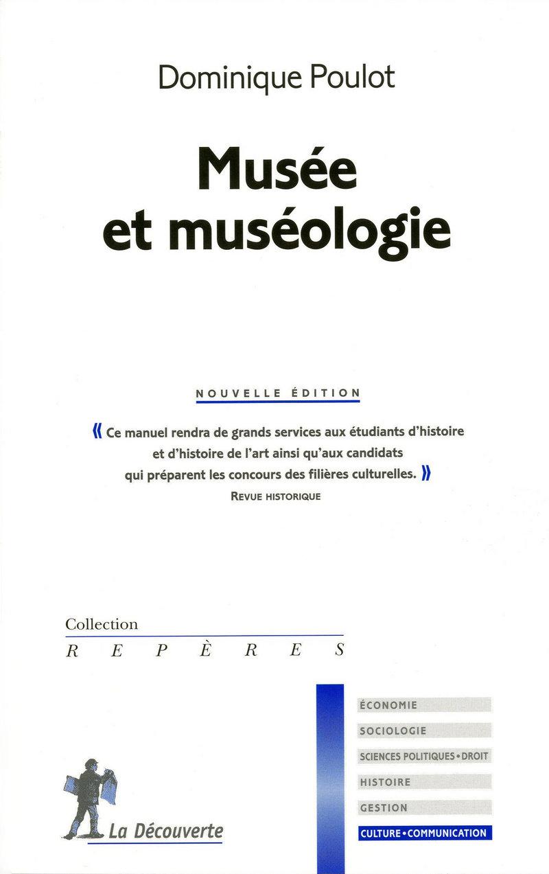 Musée et muséologie - Dominique POULOT