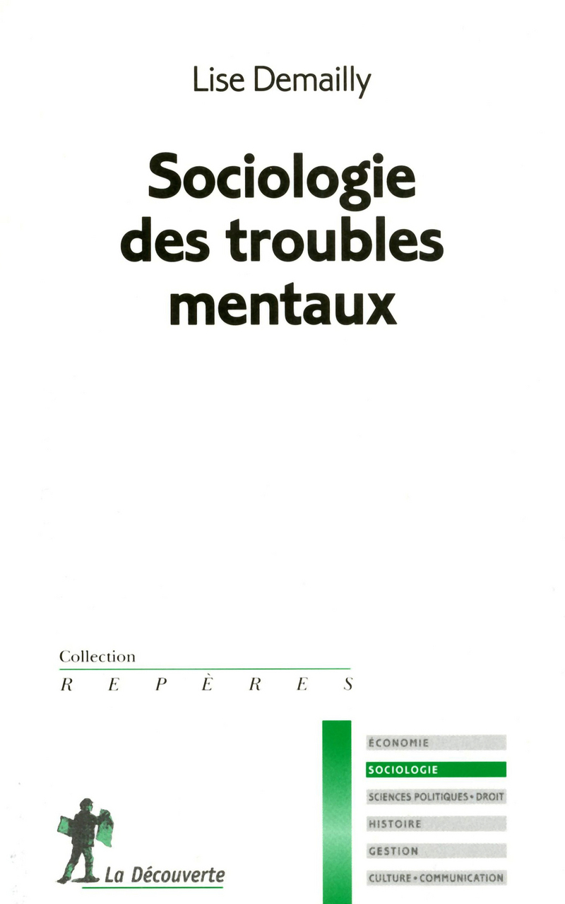 Sociologie des troubles mentaux - Lise DEMAILLY