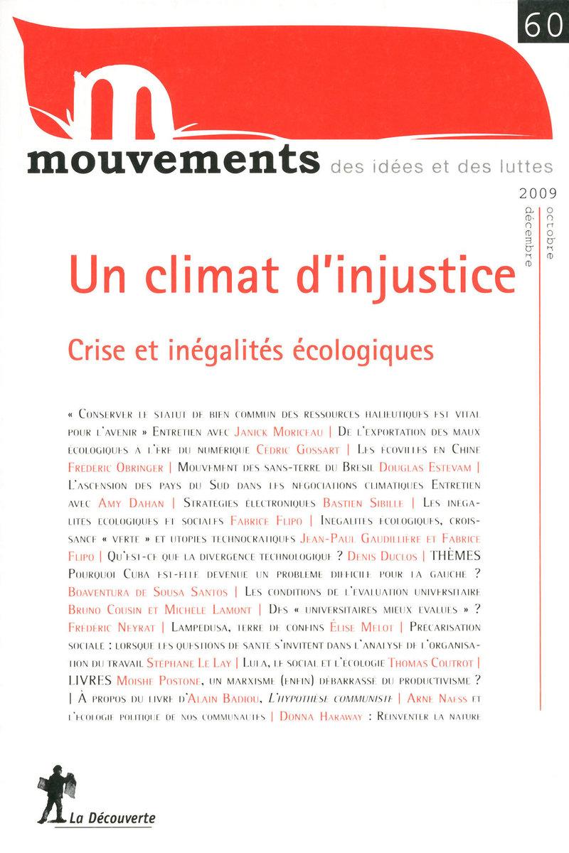 Un climat d'injustice -  REVUE MOUVEMENTS