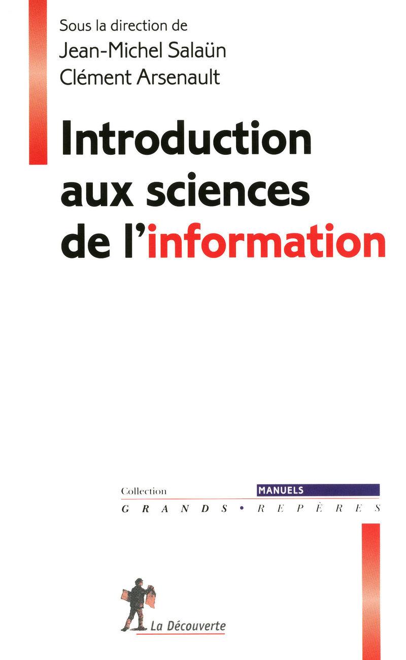 Introduction aux sciences de l\'information