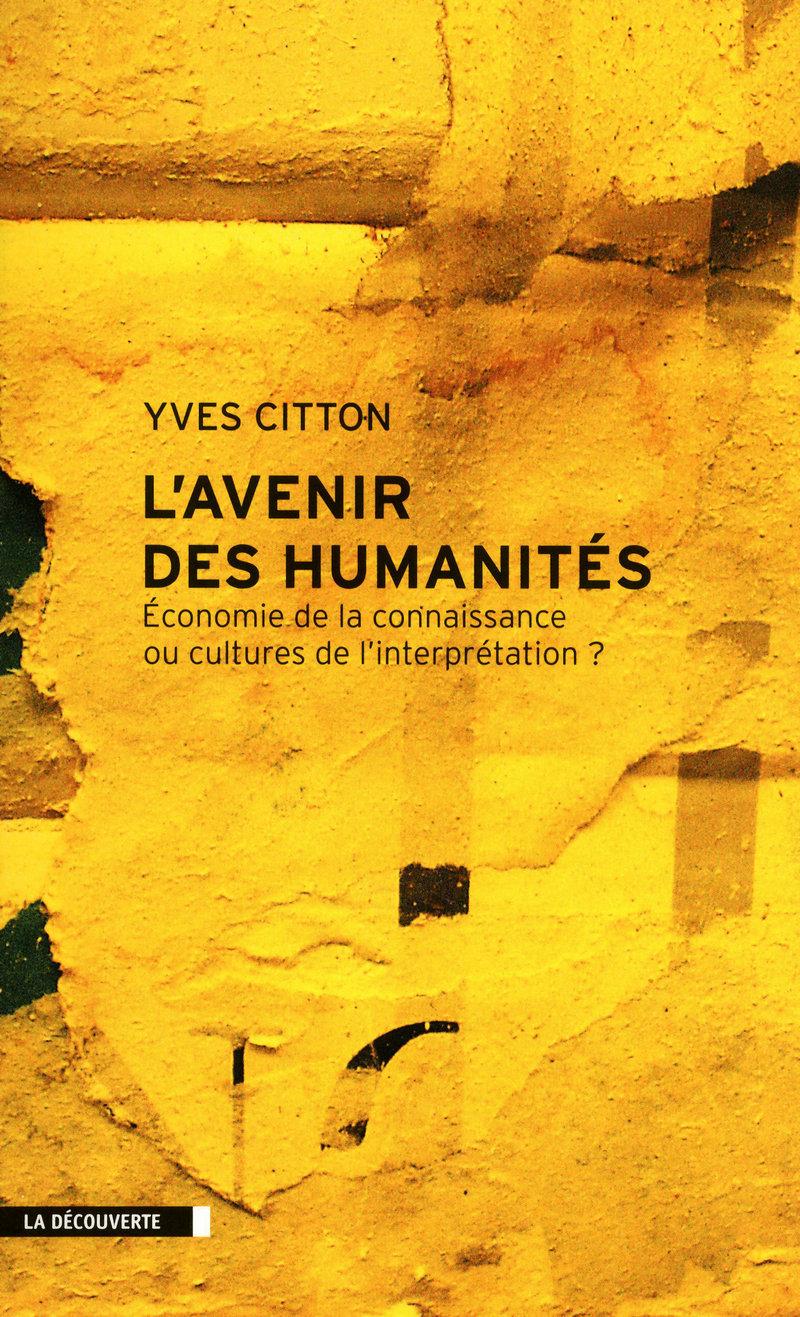 L'avenir des Humanités - Yves CITTON