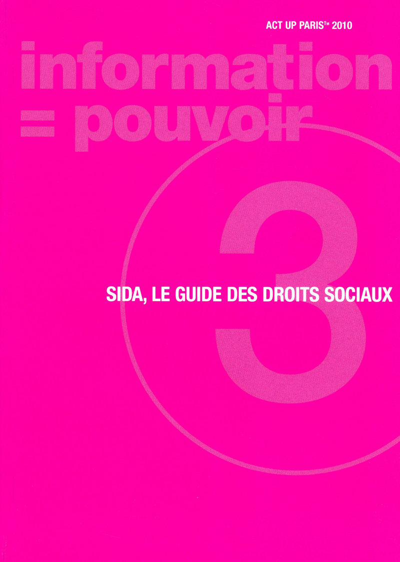 SIDA, le guide des droits sociaux -  ACT UP PARIS