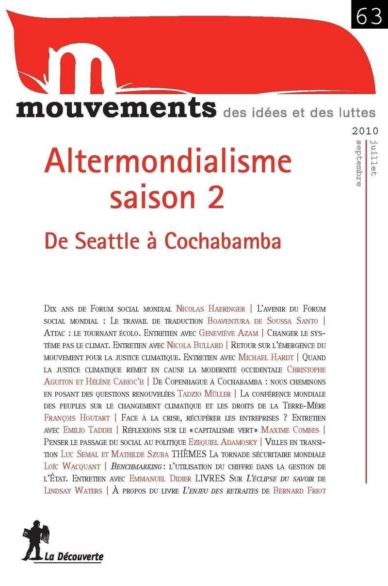 Altermondialisme saison 2 -  REVUE MOUVEMENTS