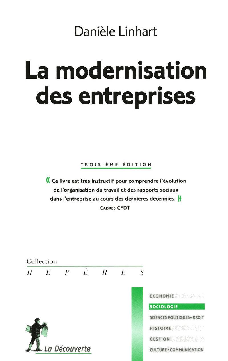 La modernisation des entreprises - Danièle LINHART