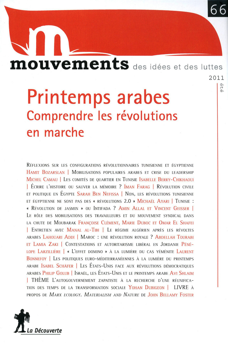 Printemps arabes -  REVUE MOUVEMENTS
