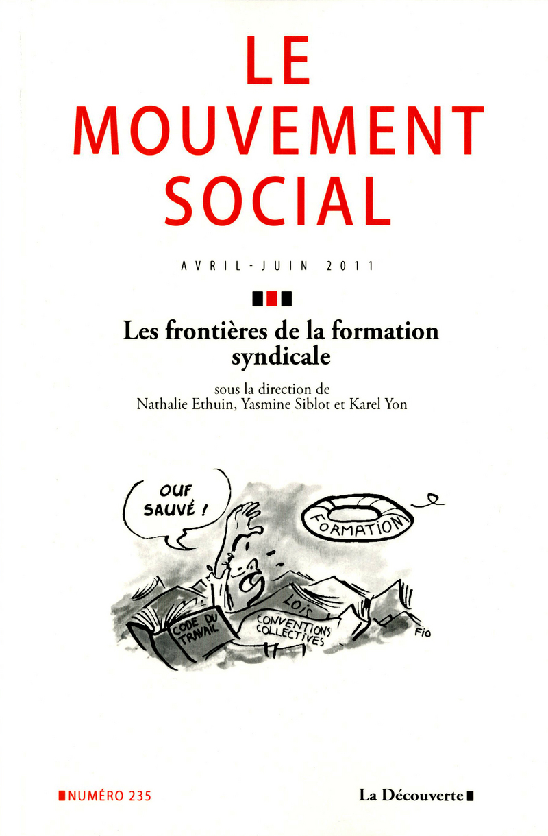 Les frontières de la formation syndicale -  REVUE LE MOUVEMENT SOCIAL