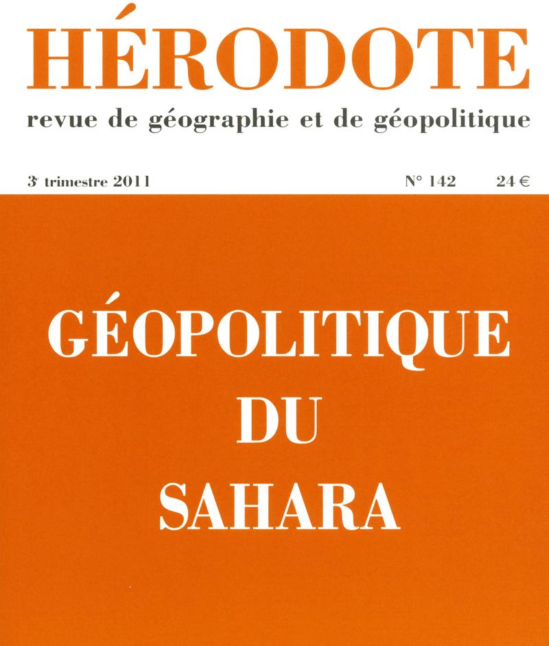 Géopolitique du Sahara -  REVUE HÉRODOTE