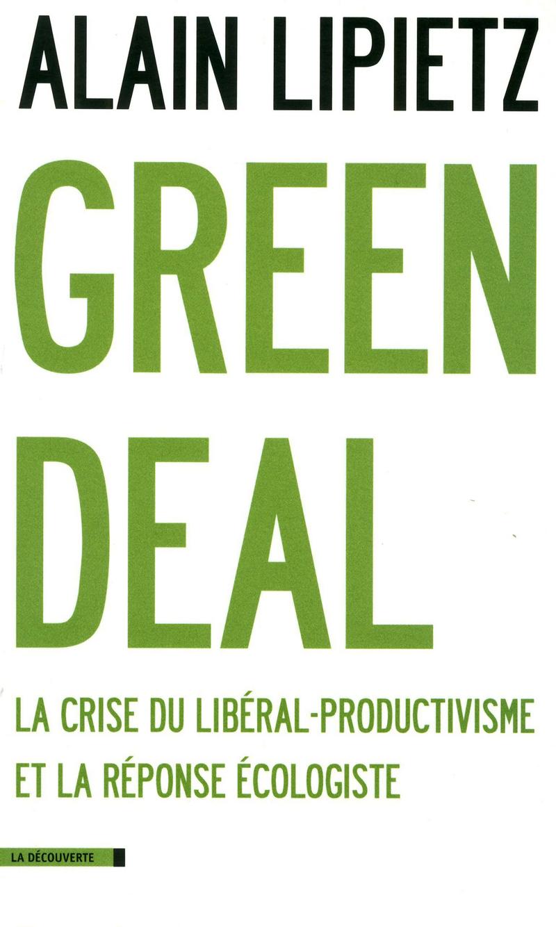 Green Deal - Alain LIPIETZ