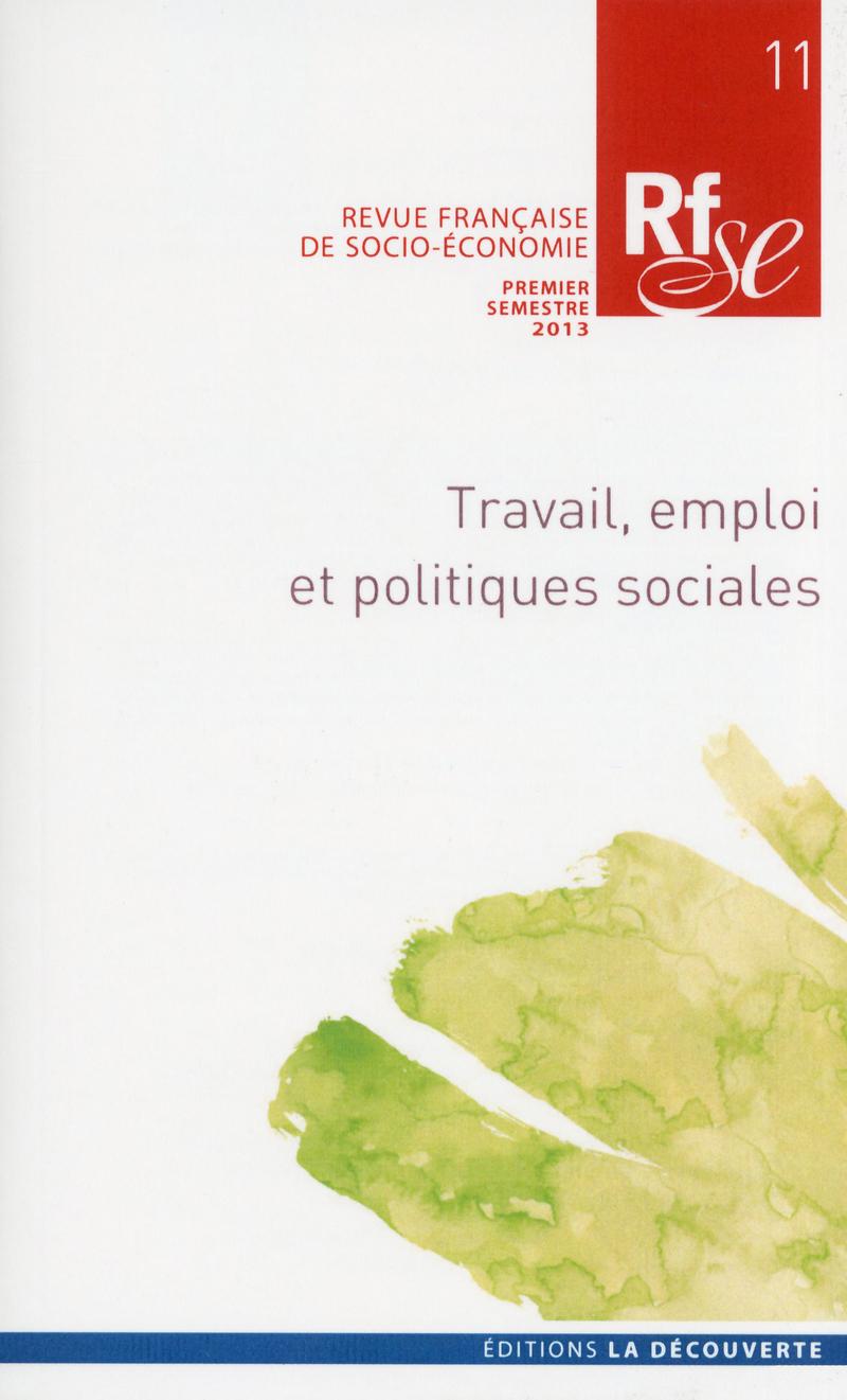 Travail, emploi et politiques sociales