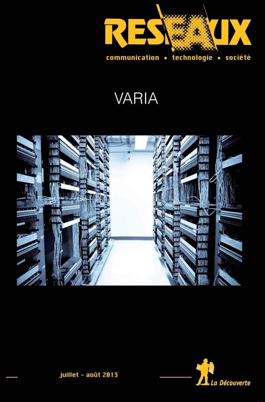 Varia -  REVUE RÉSEAUX