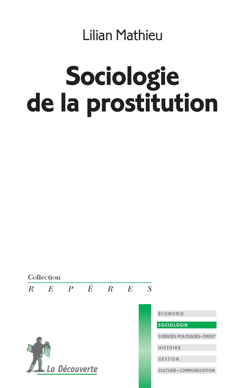 Sociologie de la prostitution - Lilian MATHIEU
