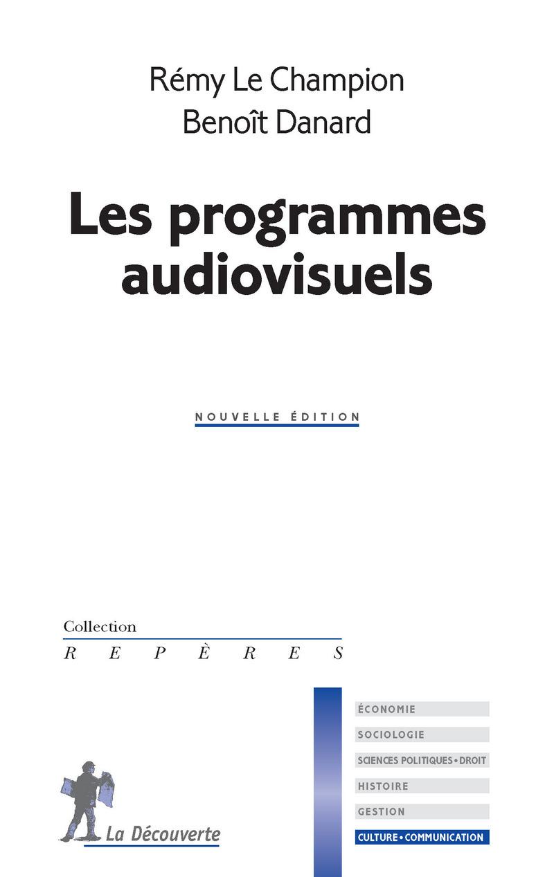 Les programmes audiovisuels