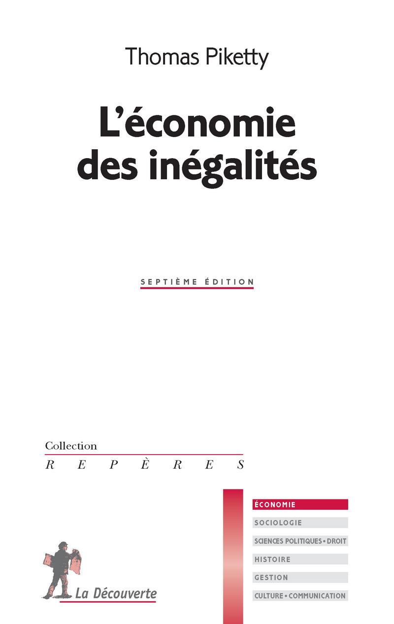 L\'économie des inégalités