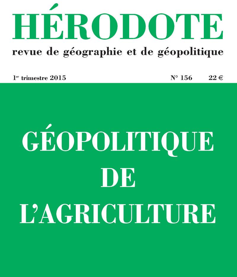 Géopolitique de l\'agriculture