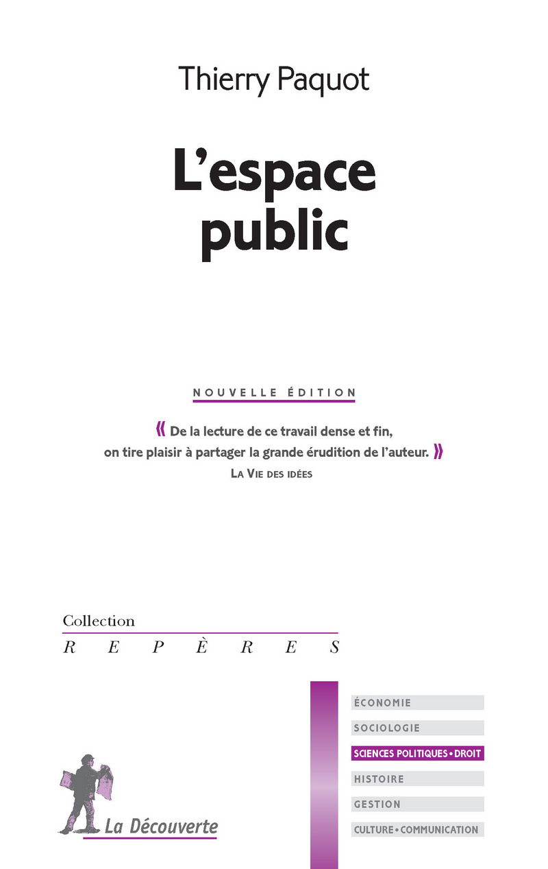 L'espace public - Thierry PAQUOT
