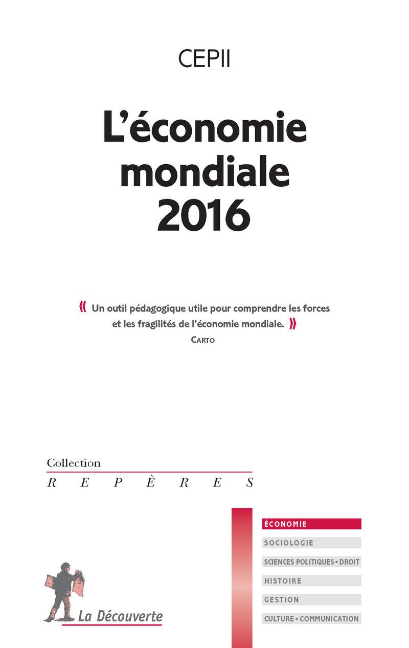 L\'économie mondiale 2016