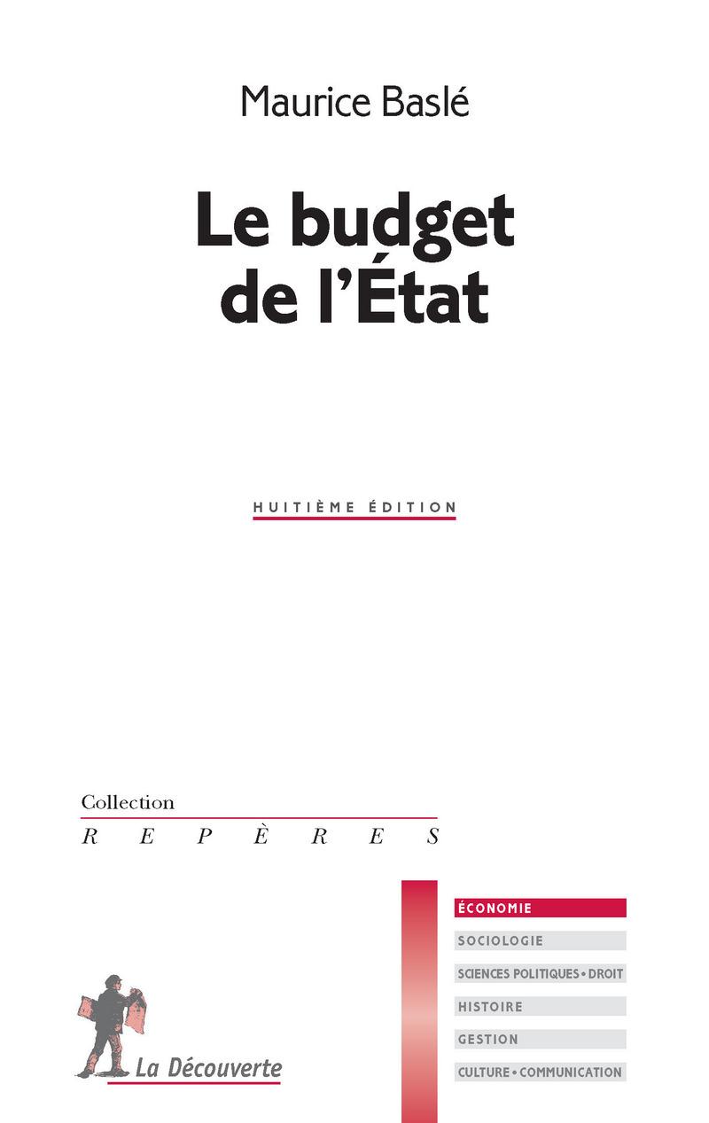 Le budget de l\'État