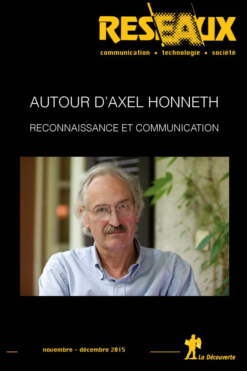 Autour d\'Axel Honneth