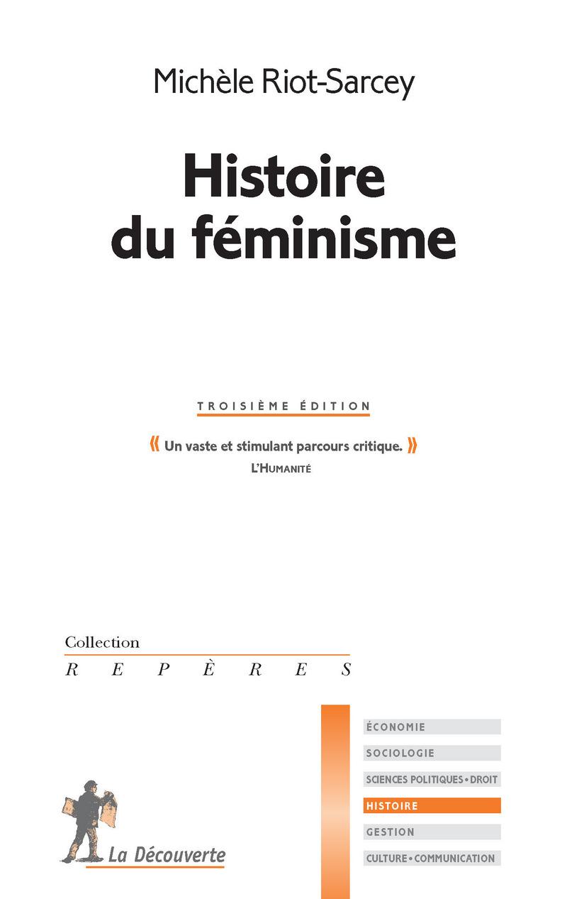 Histoire du féminisme - Michèle RIOT-SARCEY