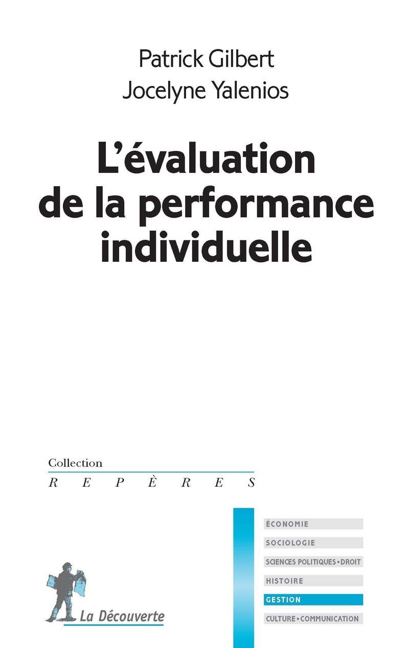 L'évaluation de la performance individuelle - Patrick GILBERT, Jocelyne YALENIOS