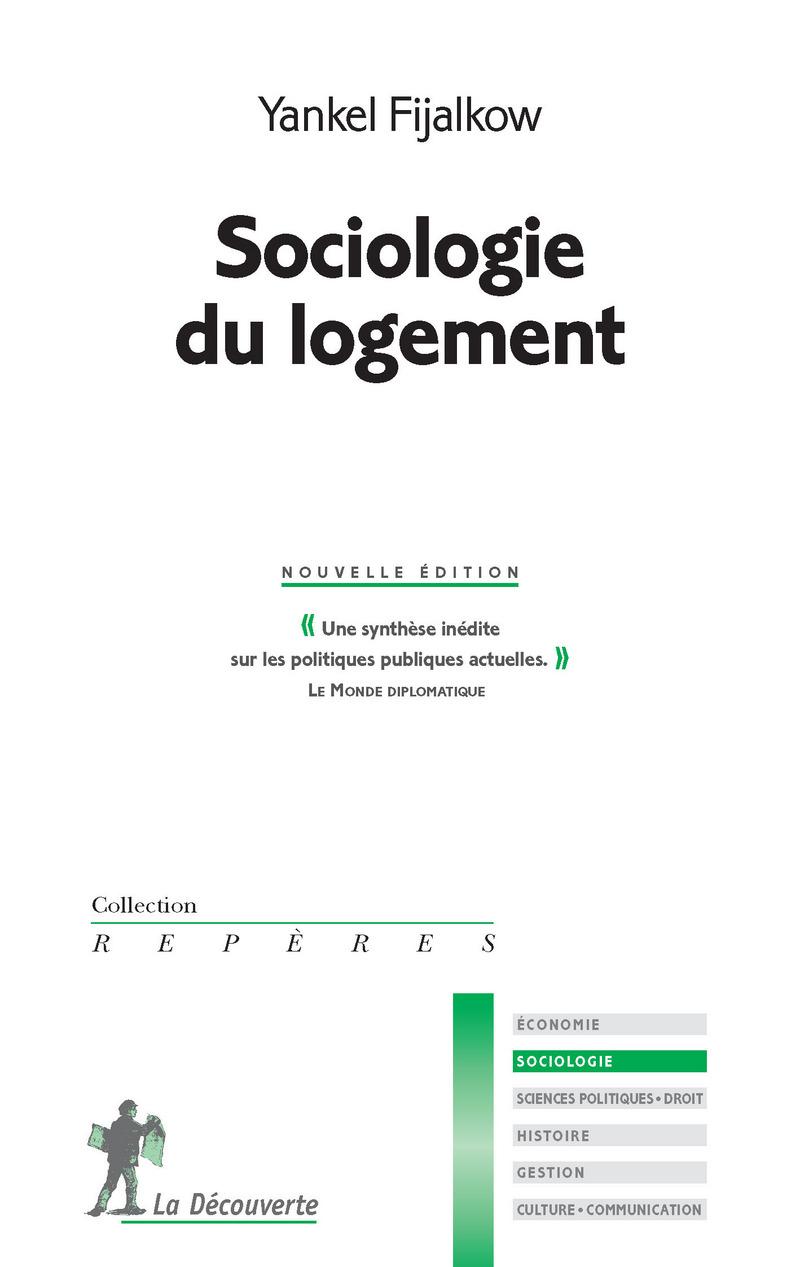 Sociologie du logement - Yankel FIJALKOW