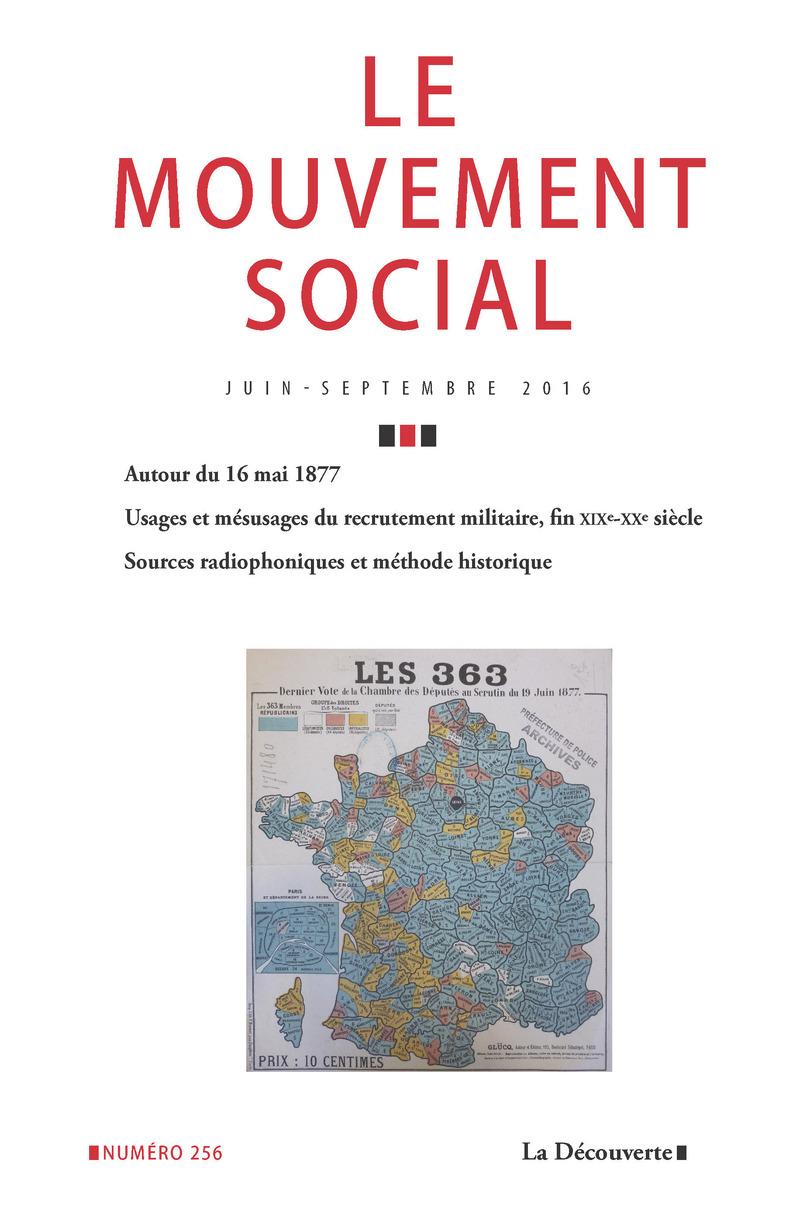 Varia -  REVUE LE MOUVEMENT SOCIAL