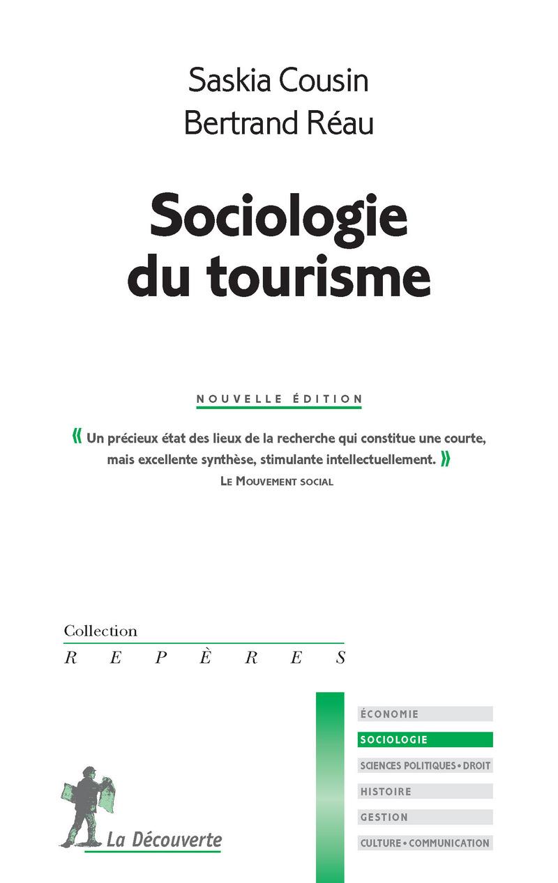 Sociologie du tourisme - Saskia COUSIN, Bertrand RÉAU