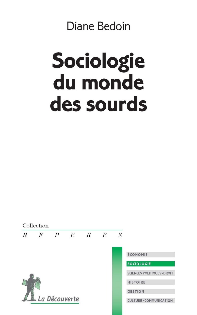 Sociologie du monde des sourds - Diane BEDOIN
