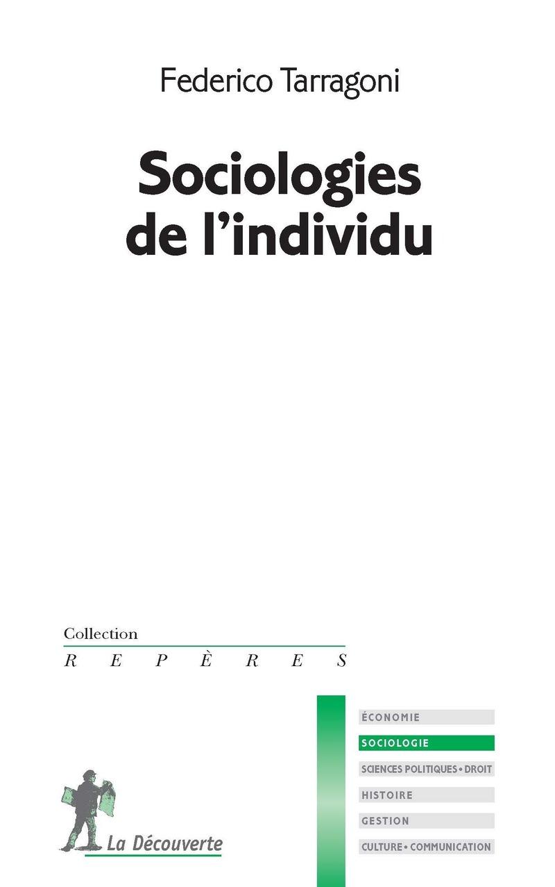 Sociologies de l'individu - Federico TARRAGONI