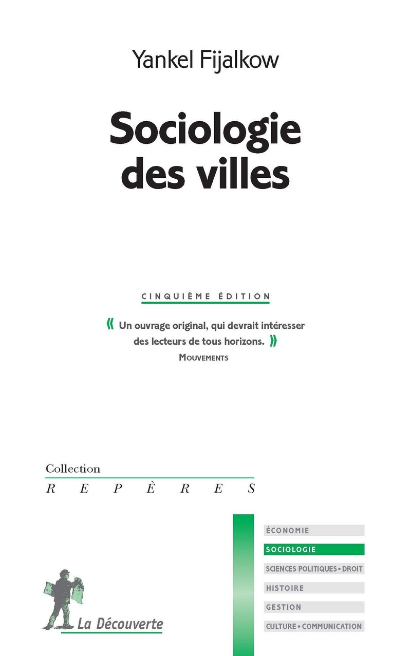 Sociologie des villes - Yankel FIJALKOW