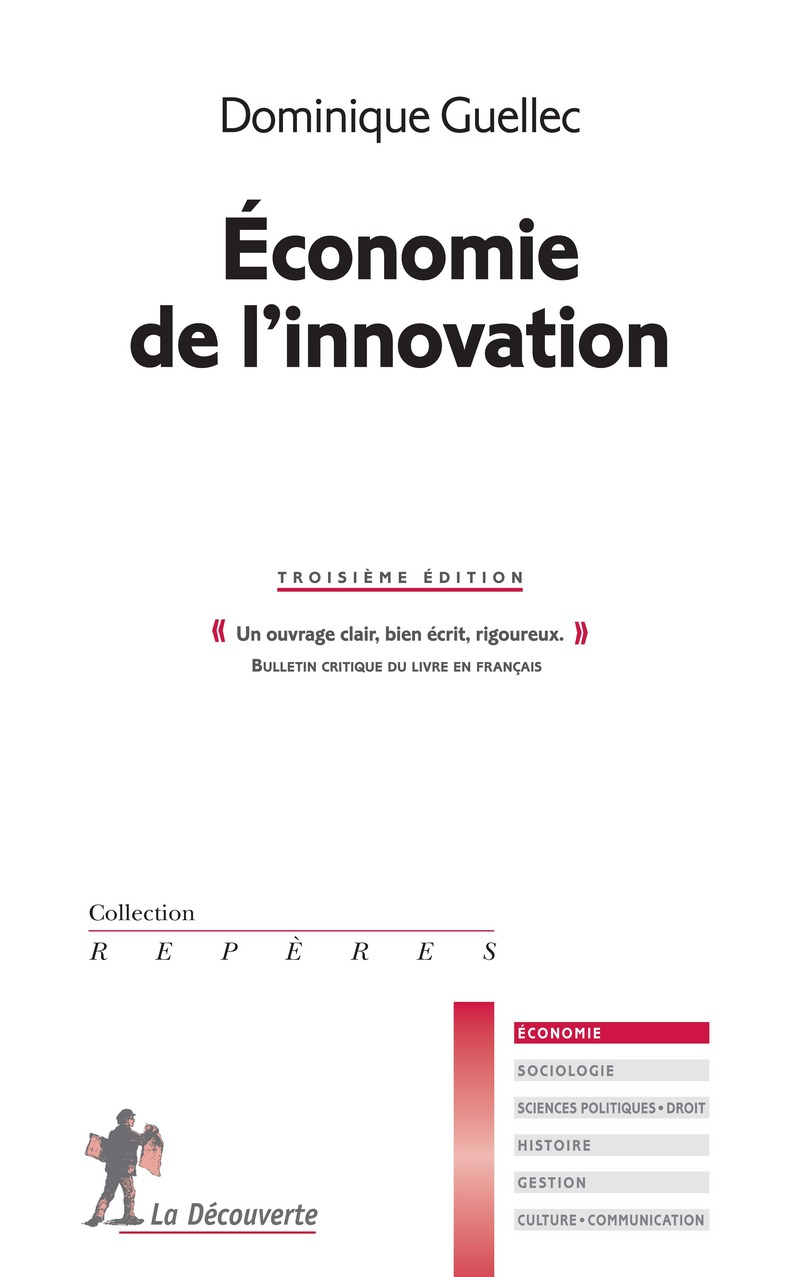 Économie de l'innovation - Dominique GUELLEC