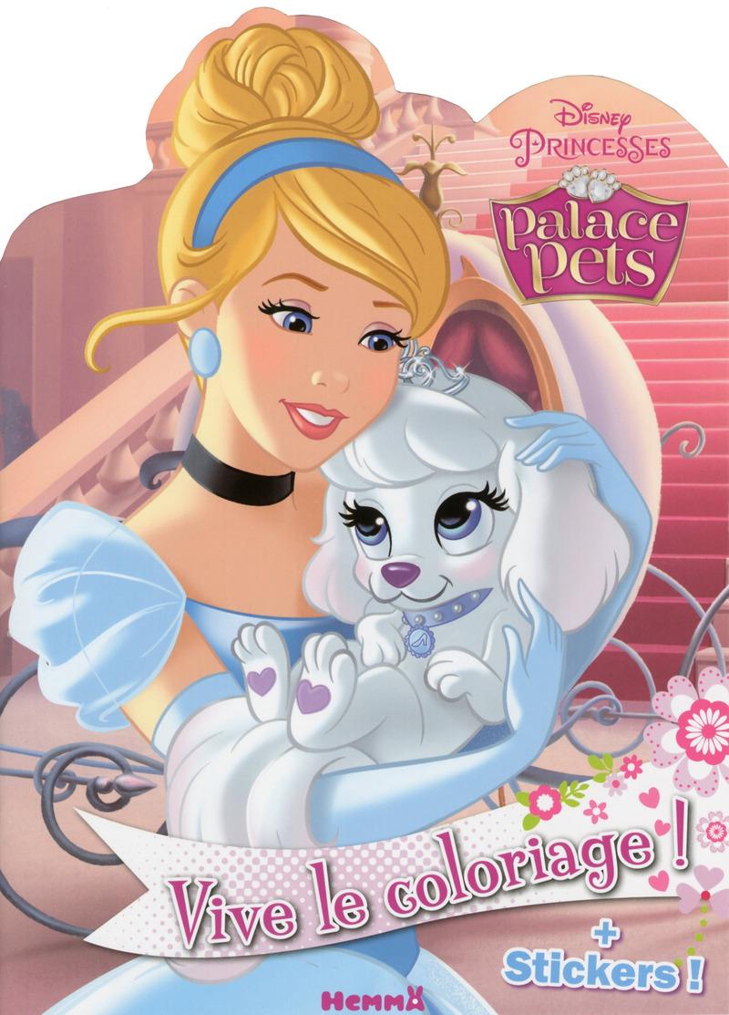disney princesses palace pets vive le coloriage. Black Bedroom Furniture Sets. Home Design Ideas