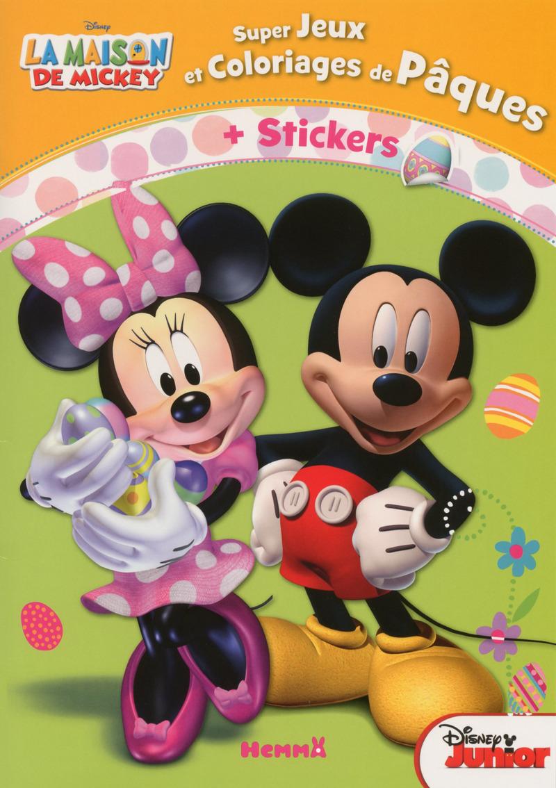 la maison de mickey jeux et coloriages de p 226 ques disney