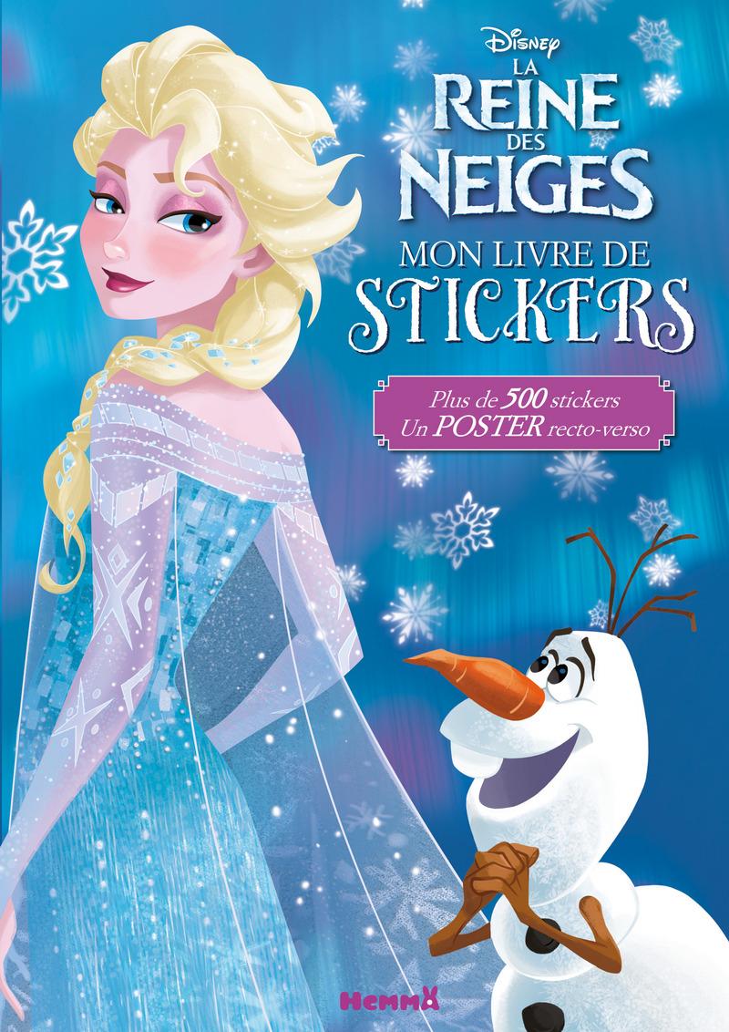 Disney la reine des neiges mon livre de stickers - Disney reine des neige ...