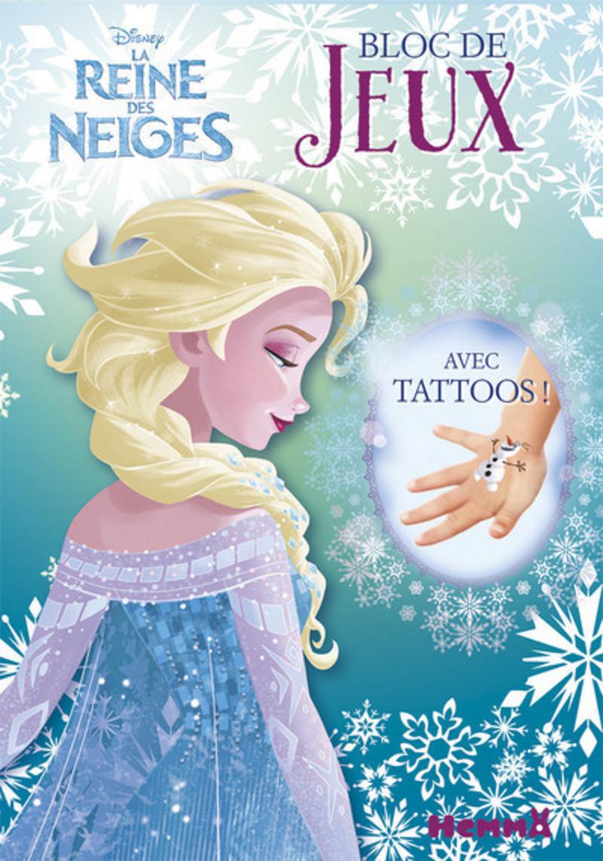 Disney la reine des neiges bloc de jeux avec tattoos - Jeux de fille reine des neiges ...