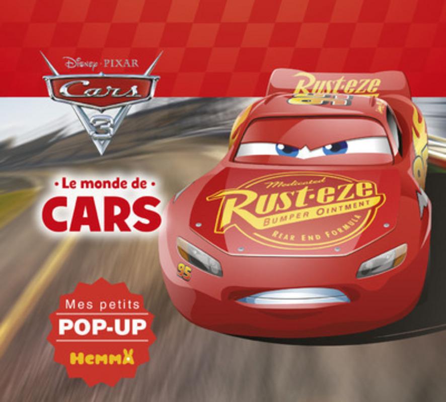 Cars 3 - Le monde de Cars - Mes petits pop-up